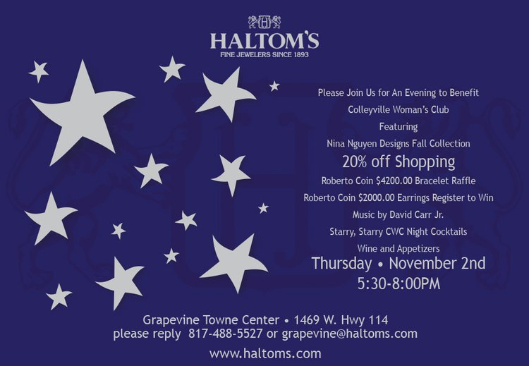 Cocktails, Shopping and Fundraising at Haltom's in Grapevine