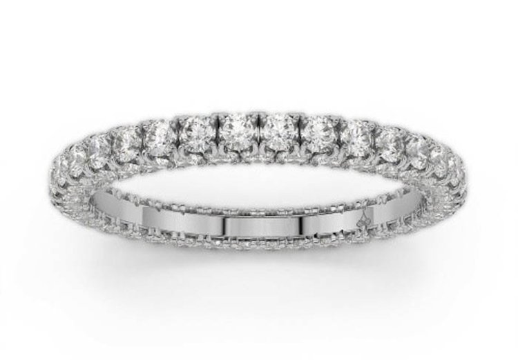 Mother's Day Gift Idea: Seamless Eternity Band