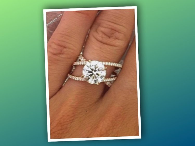 Diamond Ring:  From Pinterest to Reality