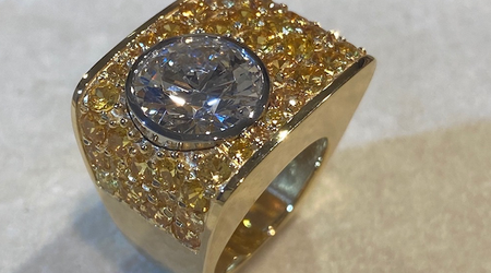 Haltom's Creates Custom Ring
