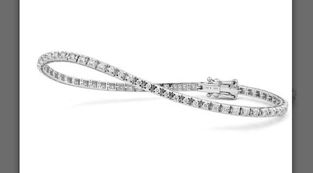 The Classics:  Diamond Tennis Bracelet